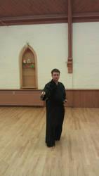 Kenshokan Seitei Iaido Roppon-Me Morote-zuki by ChaplainHopkins
