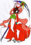 Fox Taur Kaia - Colored