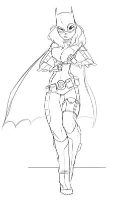 Batgirl - CCD commission