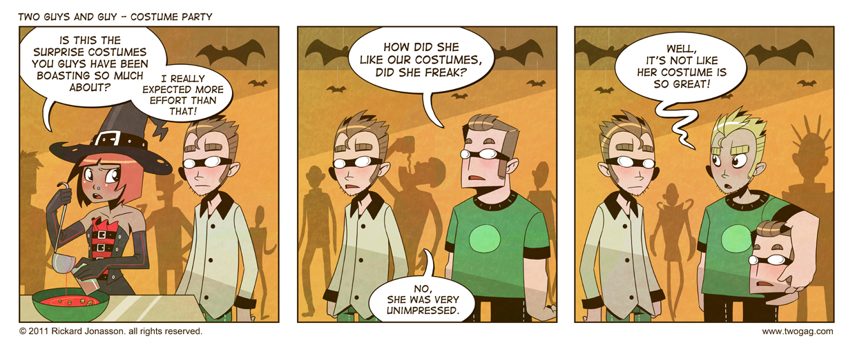 2GAG - Costume Party by Drunken-Novice