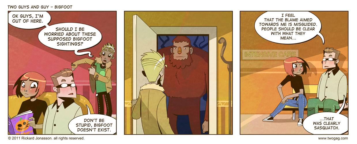 2GAG - Bigfoot by Drunken-Novice