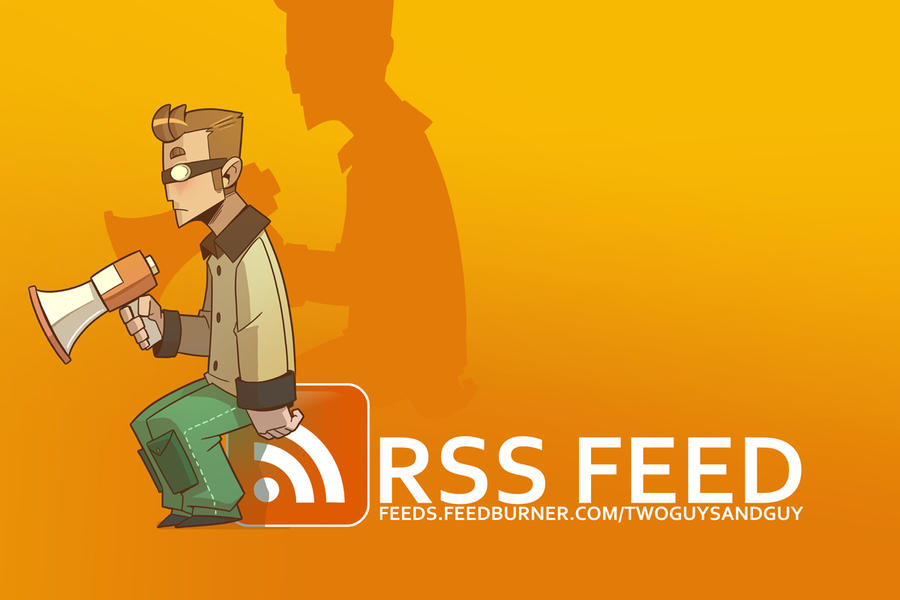 Shameless Self Promotion - RSS by Drunken-Novice
