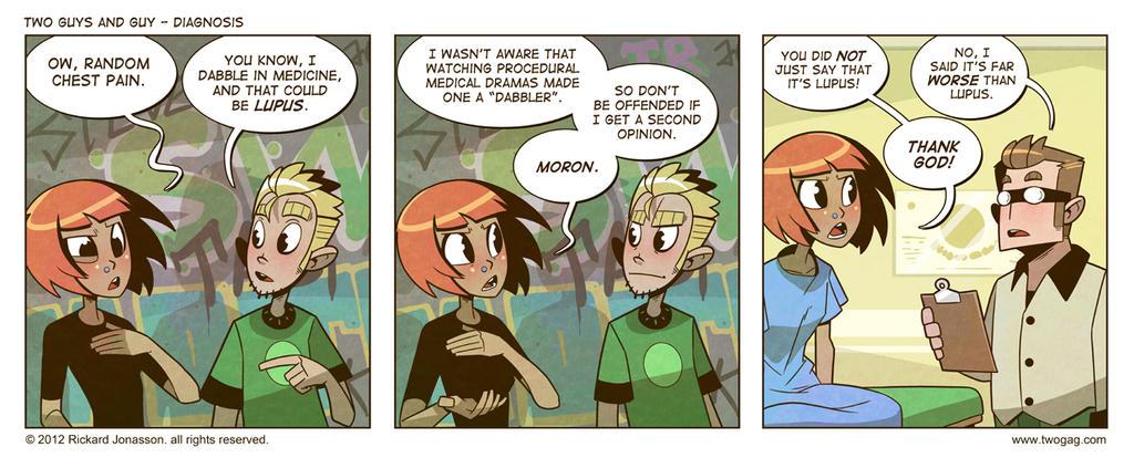 2GAG - Diagnosis by Drunken-Novice
