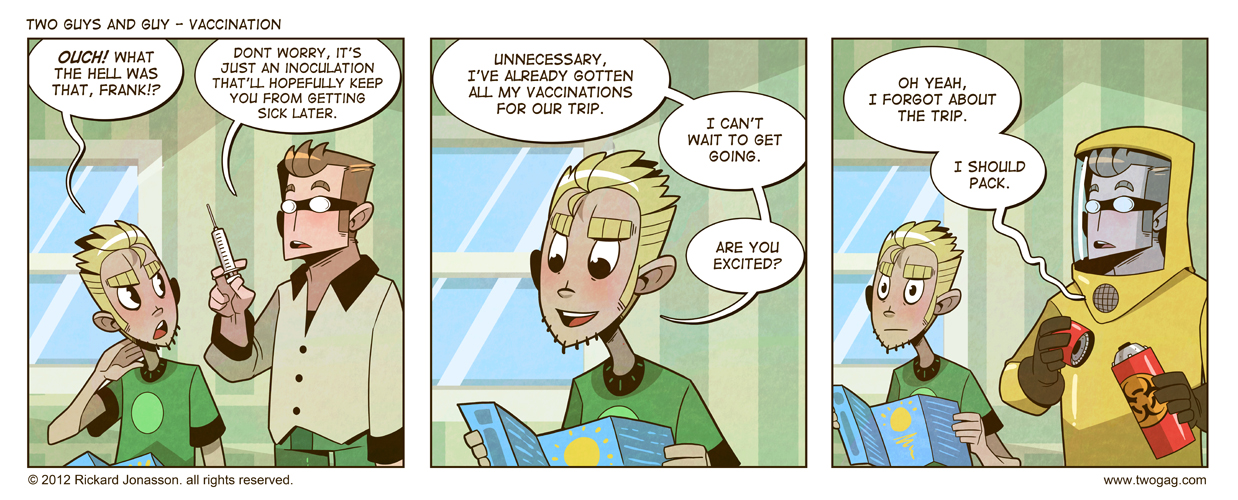 2GAG - Vaccination by Drunken-Novice