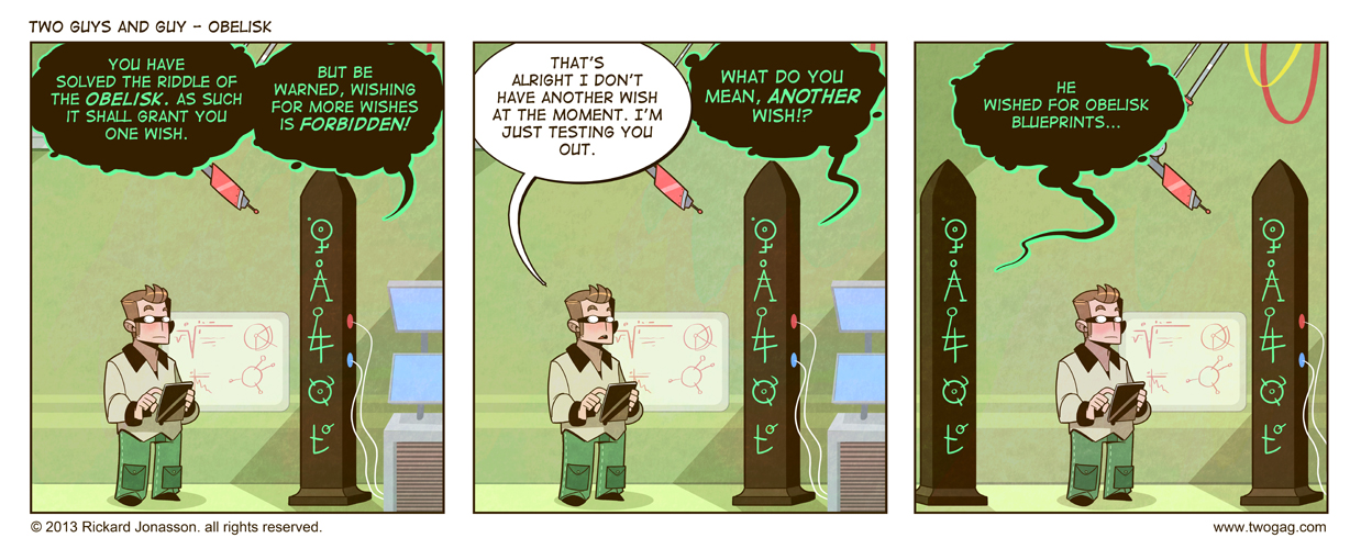 2GAG - Obelisk by Drunken-Novice