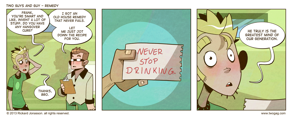 2GAG - Remedy by Drunken-Novice