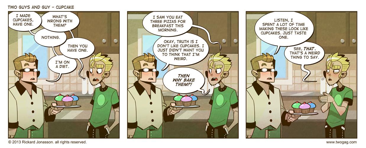 2GAG - Cupcake by Drunken-Novice