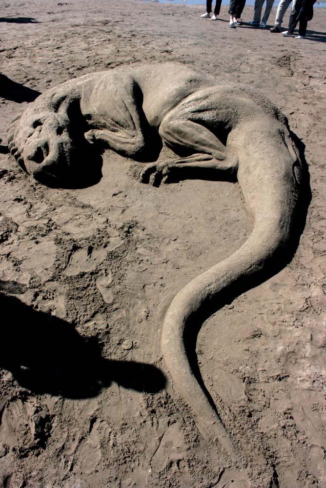 Sandy sculpture 4 by soheyl