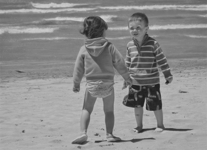 Beach Buddies by melissaschatzmann