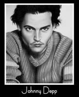 Johnny Depp by NYDevon