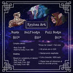 Commission information - (Last updated - June 2019 by Kyphaz