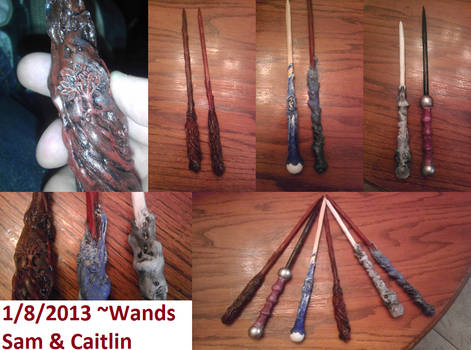 Custom Harry Potter Wands
