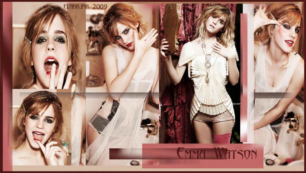 Emma Watson Wallpaper by rclarkjnr
