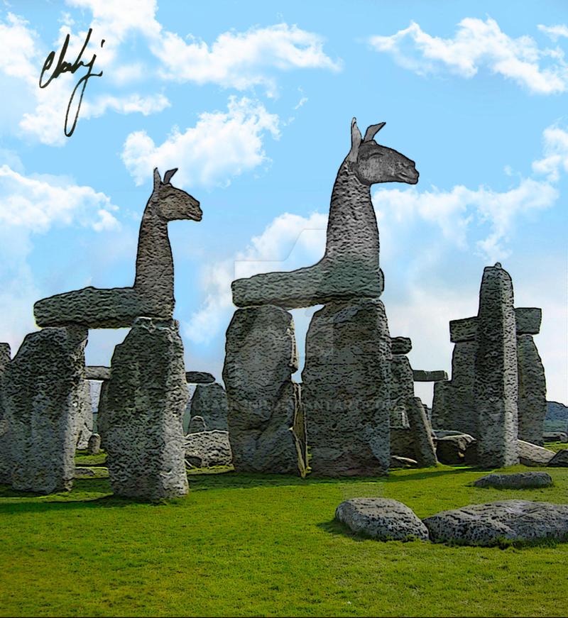 Llamahenge by rclarkjnr