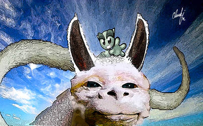 dArt the Luck Llama by rclarkjnr