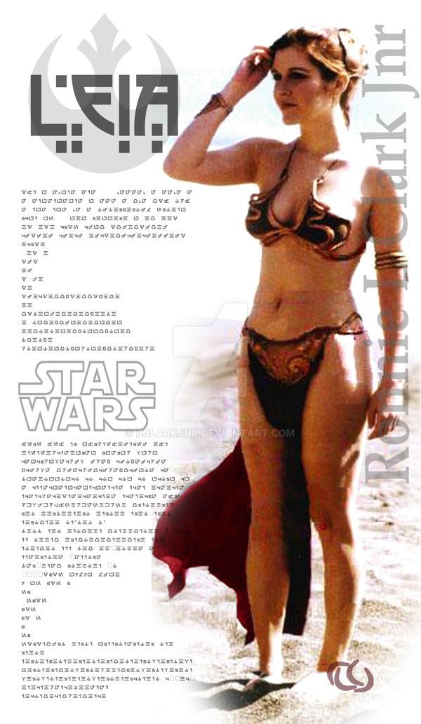 Princess Leia Organa 3 by rclarkjnr