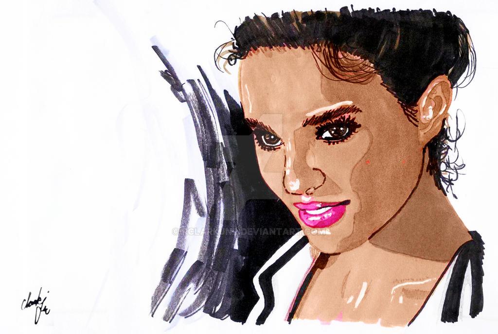 Natalie Portman III by rclarkjnr