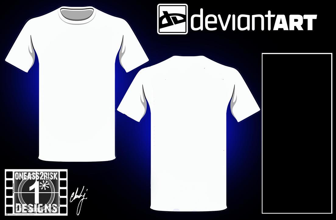 DA Blank Shirt Template II by rclarkjnr on DeviantArt
