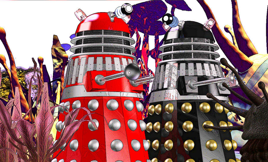 Daleks by android65mar