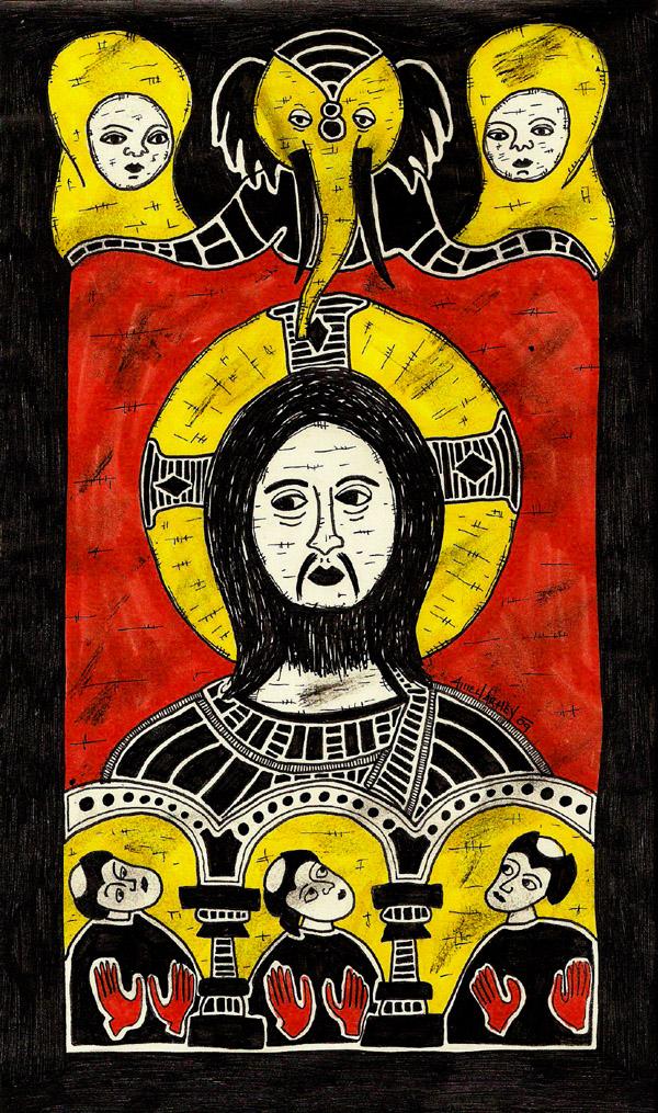 the holy face by AllieHartley