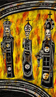 dead saints by AllieHartley