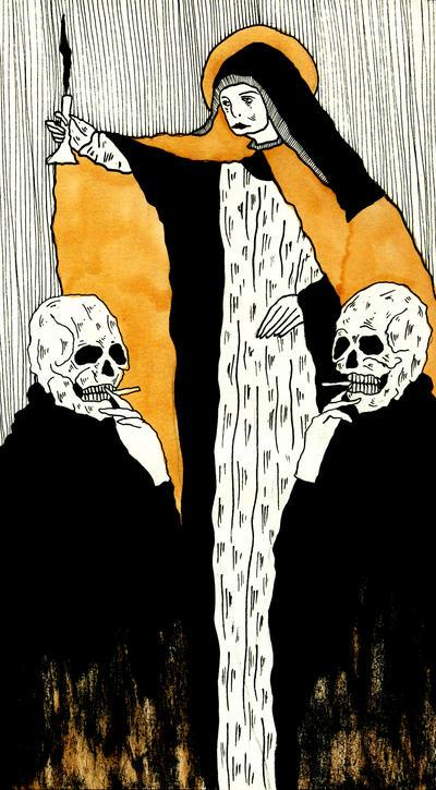Among Death