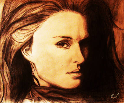 First Portrait-Natalie Portman