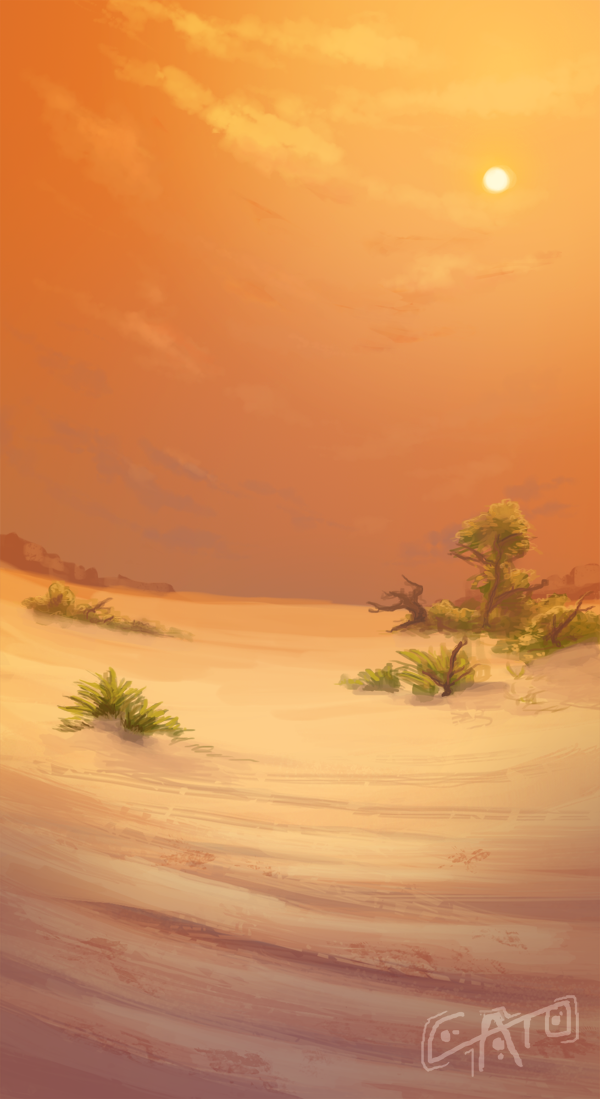 Arid Sands by Penumbra-Ex