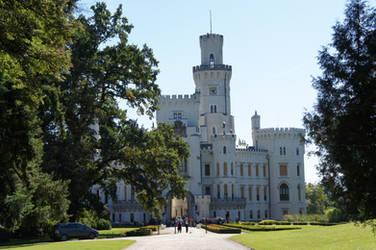 Hluboka Castle by ForestGirlStock