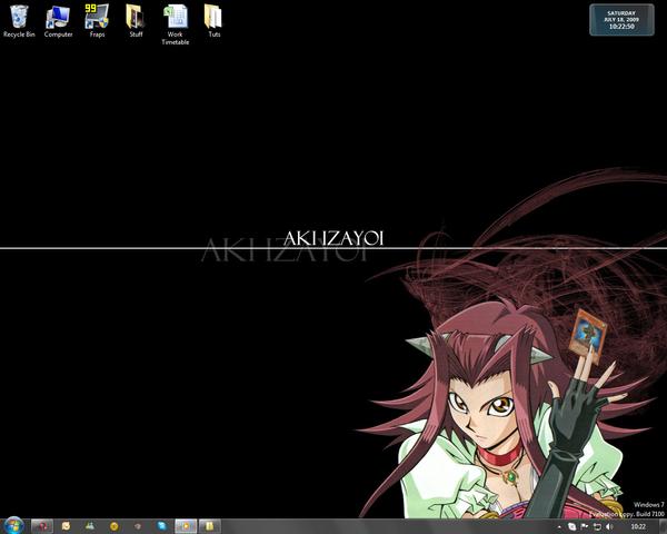 Aki Desktop 18 July 09 by BrokenOpen
