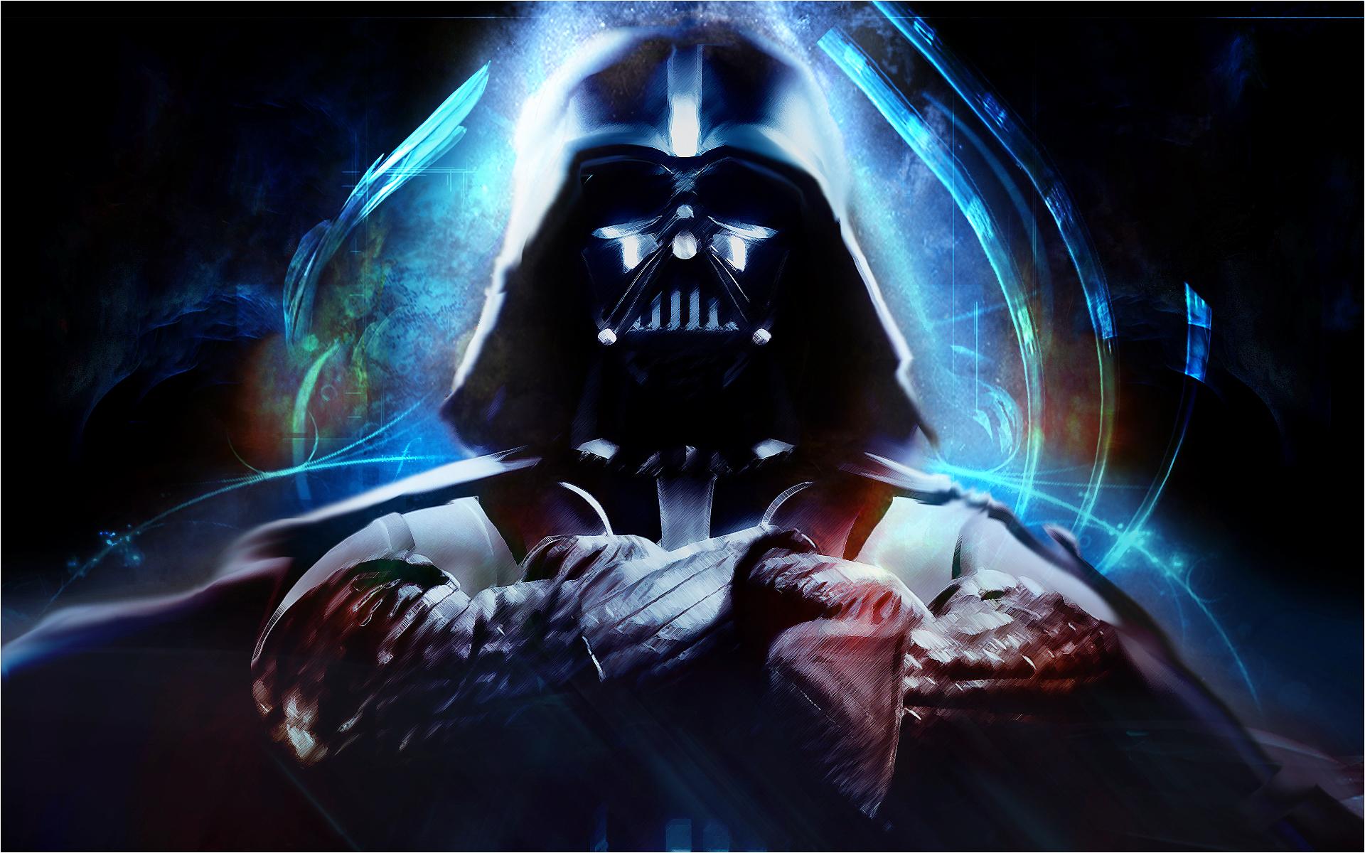 >> IMAGENES ENCADENADAS << - Página 3 Darth_Vader_by_SeanCoey