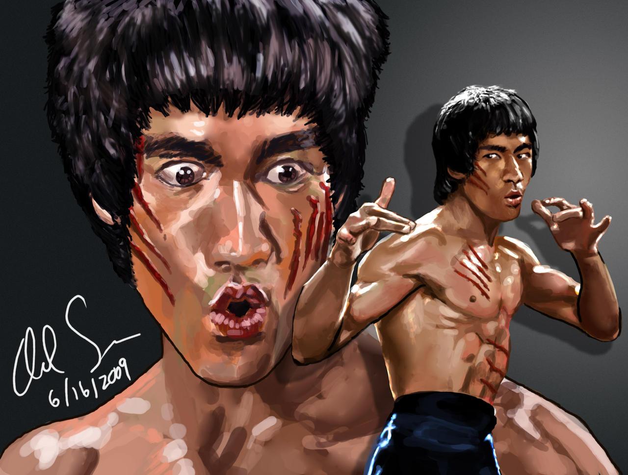 Bruce Lee Wallpaper Enter The Dragon Bruce lee - enter the dragonby