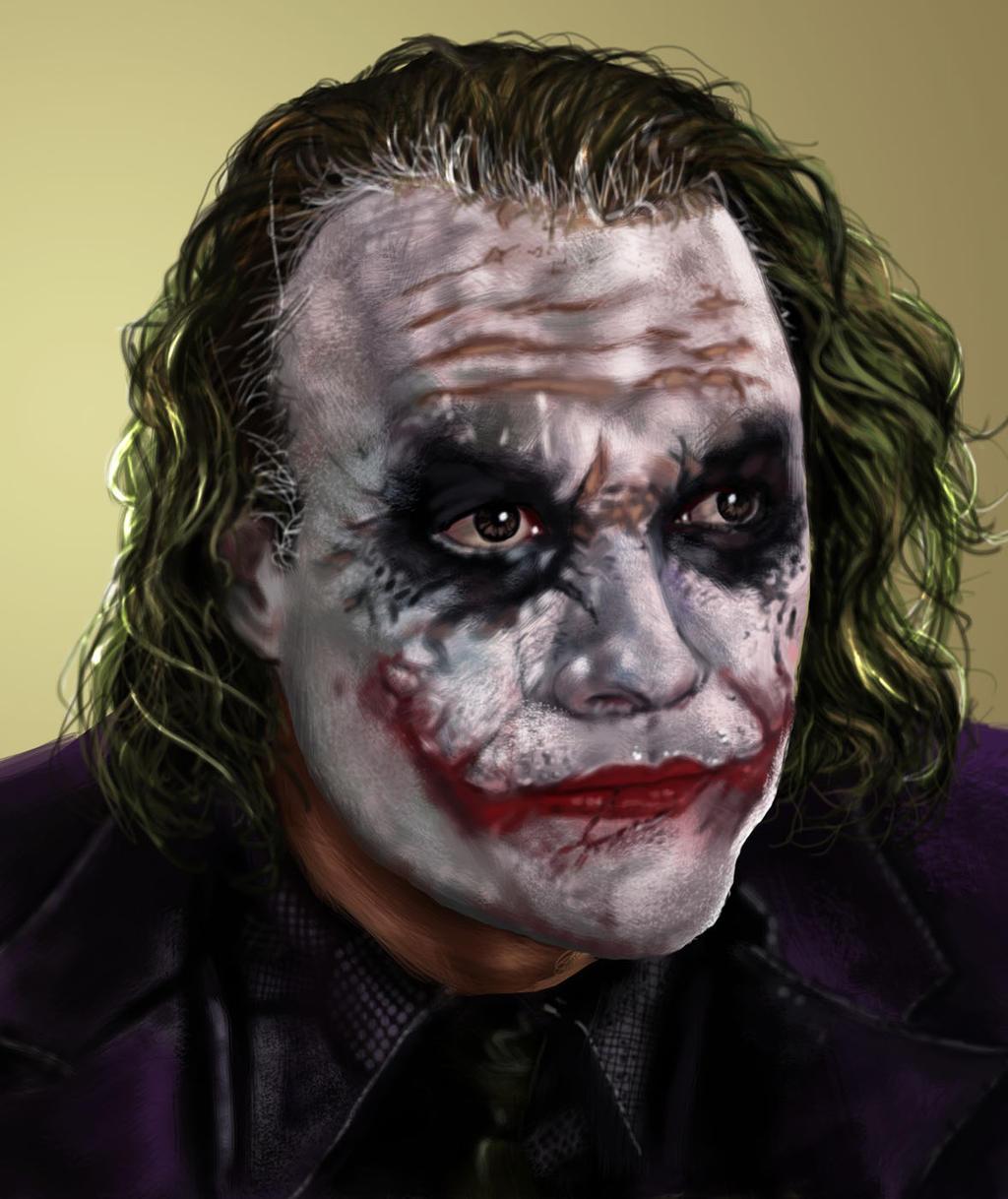 Joker speedpaint by osx-mkx