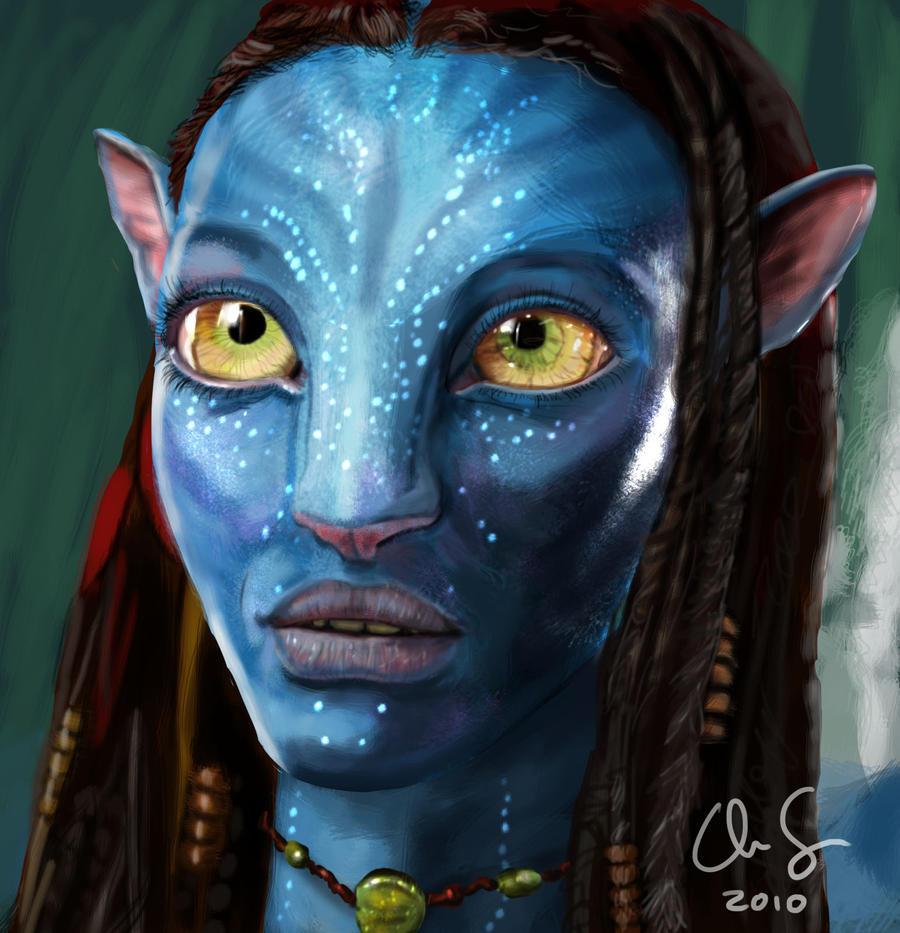 Avatar Art: Neytiri From Avatar By Osx-mkx On DeviantArt