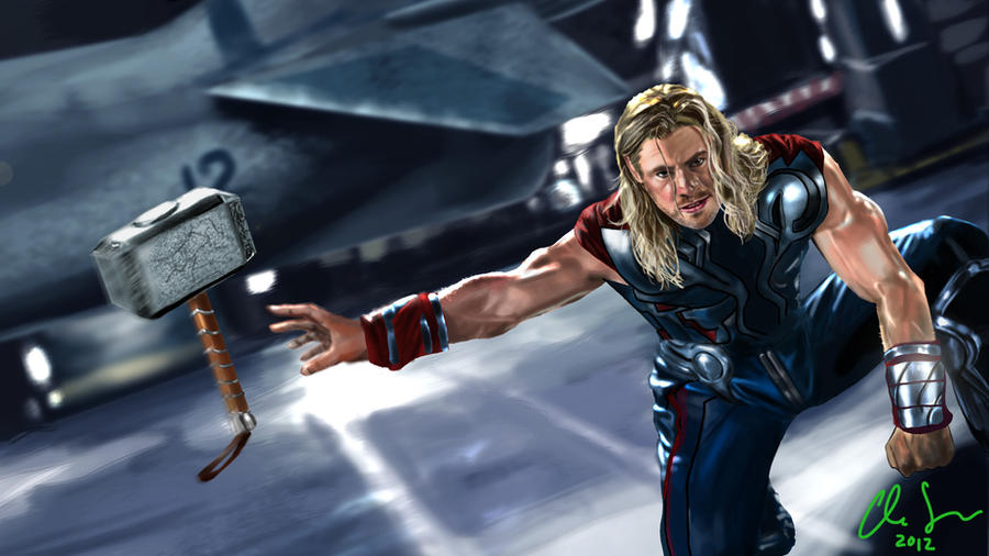 thor avengers wallpaper by osx mkx on deviantart