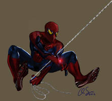Amazing Spider-Man by osx-mkx