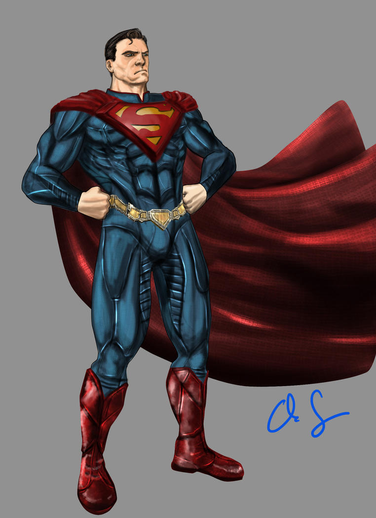 Superman Injustice by osx-mkx