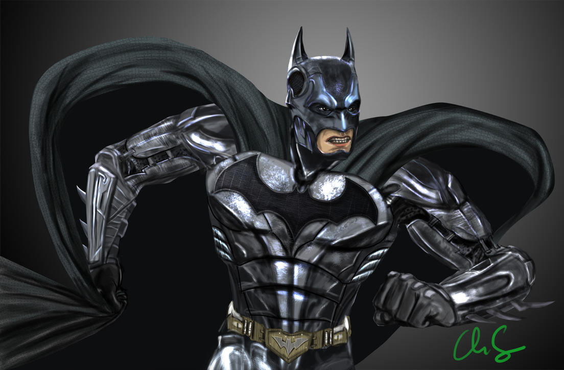 Batman Injustice by osx-mkx