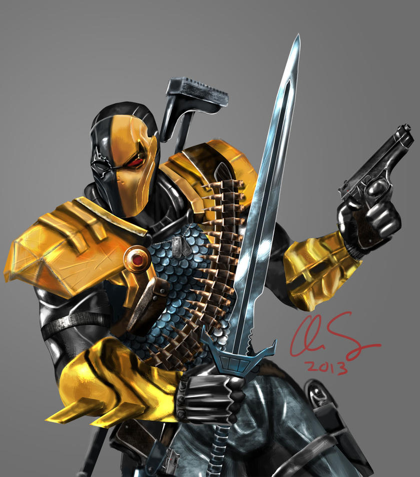 Injustice Deathstroke by osx-mkx on DeviantArt