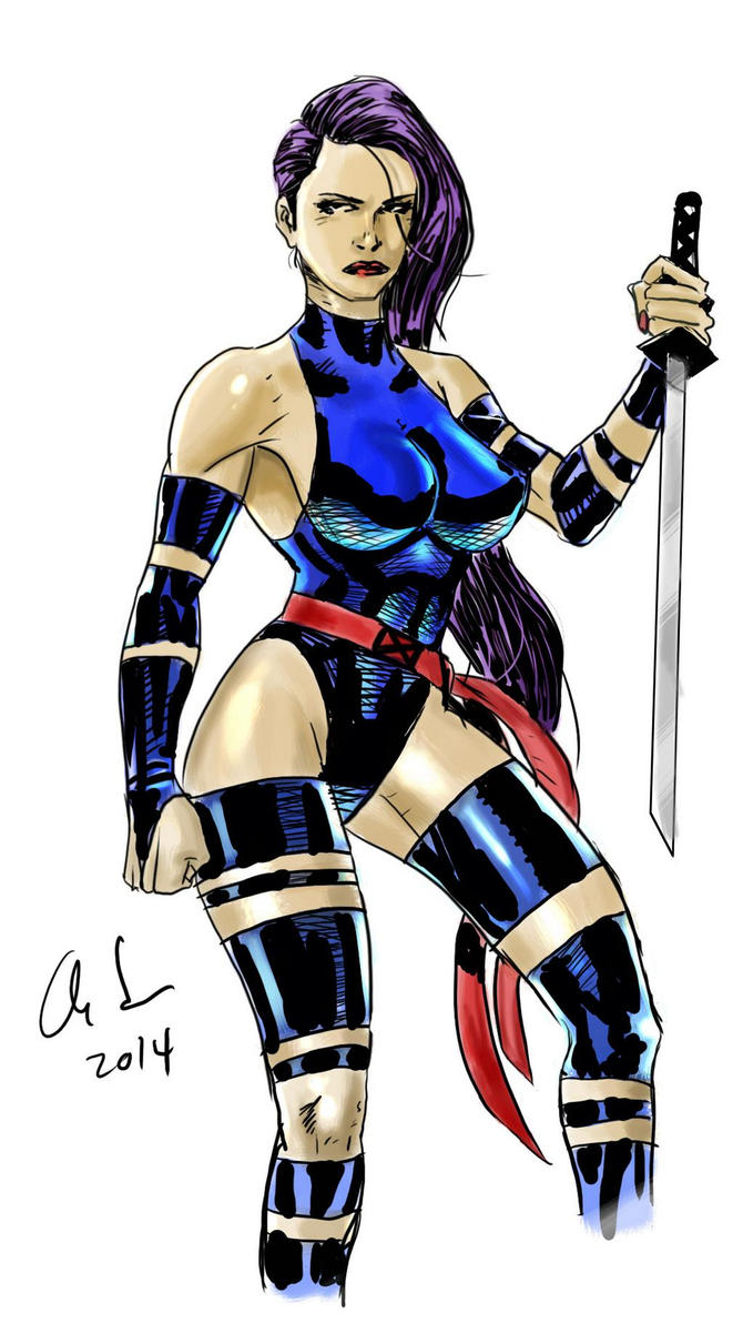 Psylocke Windows 8.1 Touchscreen Test by osx-mkx