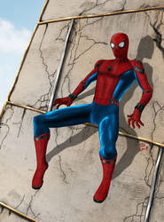 Homecoming Spidey Redo by osx-mkx