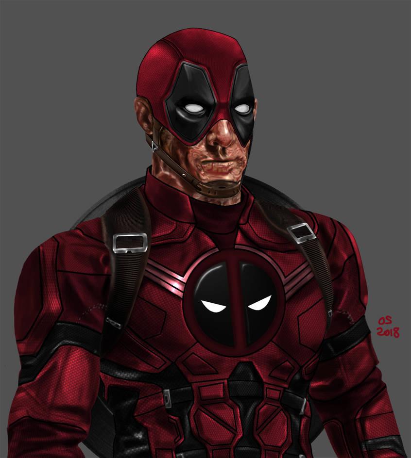 Captain Deadpool by osx-mkx