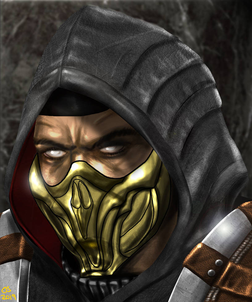 MK11 Scorpion by osx-mkx