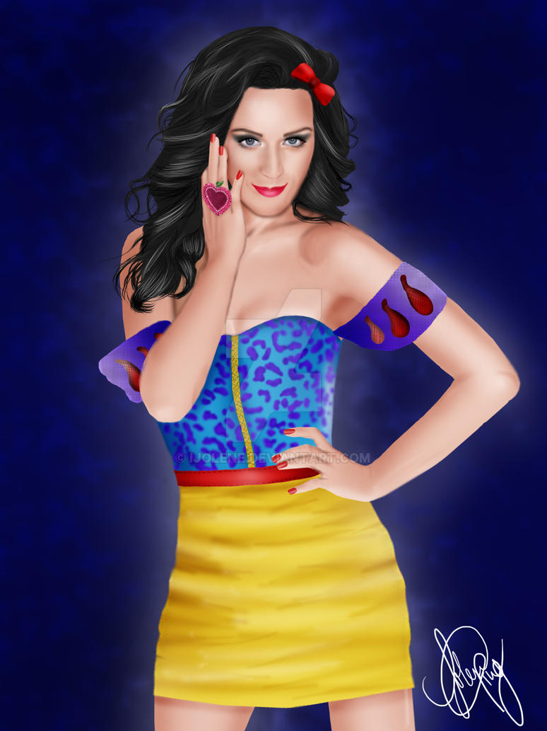 Katy perry as modern snow white by ijolene on deviantart