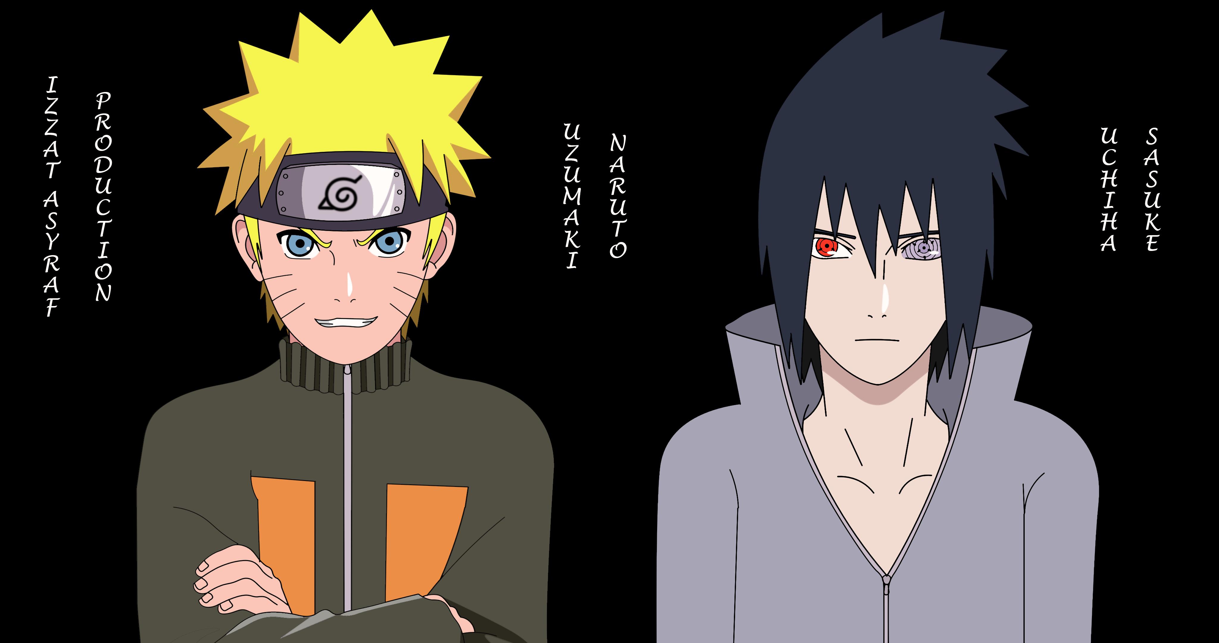 Naruto Sasuke 4k Wallpaper By Izzatasyraf On Deviantart