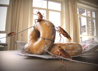 Roach Heist by konginchains