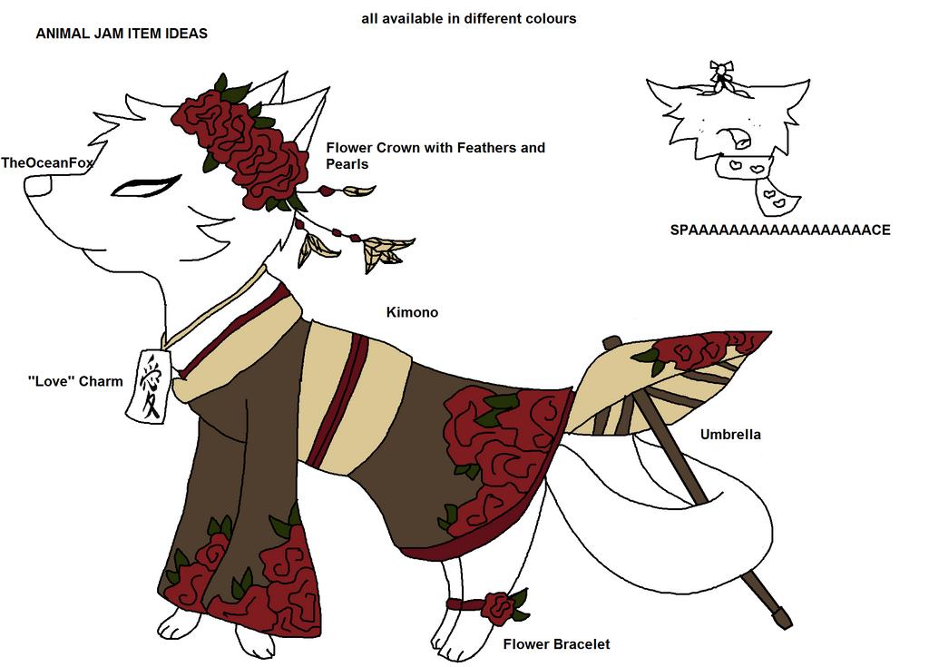 Animal Jam Item Ideas By TheOceanFox On DeviantArt