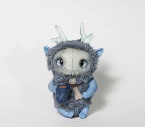 Yukon Wendigo by Furrykami-creatures