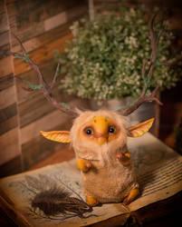 Tree-horns forest spirit by Furrykami-creatures