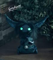 Night sky Vampire - art toy by Furrykami-creatures